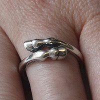 Horse Hoof Ring in Sterling Silver