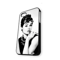 Audrey Hepburn cute iPhone 5/5S Case