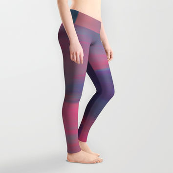 Renewal at Dusk Leggings by duckyb