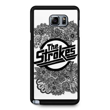 The Strokes Zentangle Logo Samsung Galaxy Note 5 Case