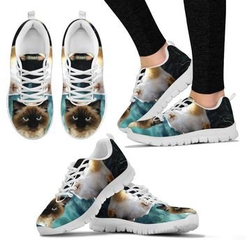 Himalayan Cat (Halloween) Print-Running Shoes For Women/Kids-Free Shipping