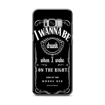 Ed Sheeran Drunk Lyrics jack daniels Samsung Galaxy S8 | Galaxy S8 Plus Case