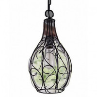 Countryside iron bird cage creative dinning room vintage industrial edison pendant lamp light