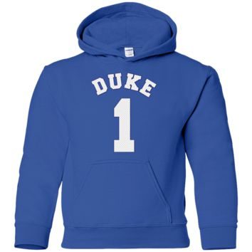 YOUTH - ZION WILLIAMSON #1 DUKE BLUE DEVILS JERSEY HOODIE