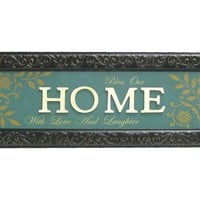 Bless Our Home Embossed Metal with Wood Wall Decor | Shop Hobby Lobby