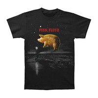 Pink Floyd Men's  Pig Over London T-shirt Black Rockabilia