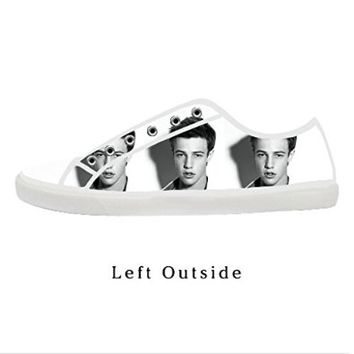 Custom Cameron Dallas Magcon Boys Women's Canvas Shoes Fashion Shoes for Women