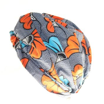 Stylish Ankara Fabric Print Turban