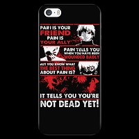 Tokyo Ghoul - Kaneki Pain It tells you you're not dead yet - Iphone Phone Case - TL01047PC