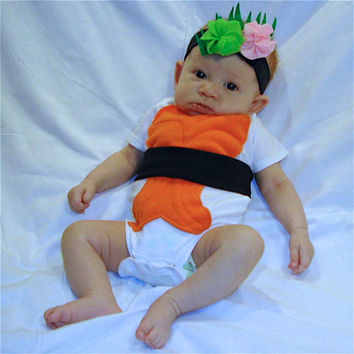 DIY Do It Yourself Baby Costume  Halloween Costume  Sushi Costume