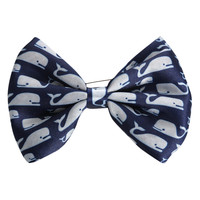 LOVEsick Whales Hair Bow