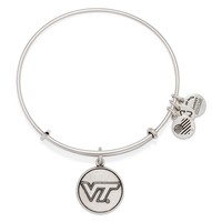 Virginia Tech Logo Charm Bangle