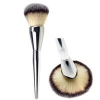 Very Big Beauty Powder Brush Blush Foundation Round Make Up Tool Large Cosmetics Aluminum Brushes Soft Face Makeup