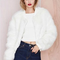 One Faux All Fur Jacket