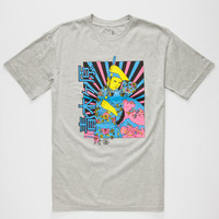Altamont Suicide Poster Mens Tee Heather  In Sizes