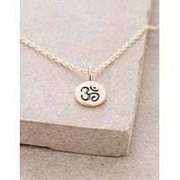 Delicate Om Necklace
