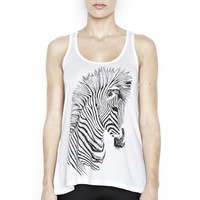 Nancy Zebra Racerback Swing Tank - Gifts Under $100 - SHOP