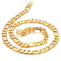 18k Gold Plated Chain for Men