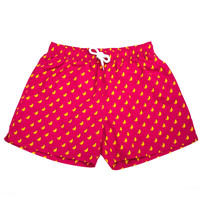 THE HOT BANANAS SWIM TRUNK IN RED BY KENNEDY