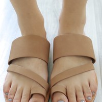 Whitney Sandals - Camel