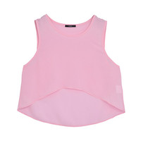 FINE COLOR SHORT TANK TOP - EMODA Global Online Store
