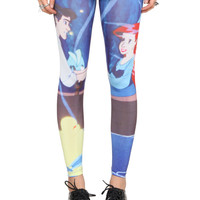 Disney The Little Mermaid Ariel And Eric Leggings 2XL | Hot Topic
