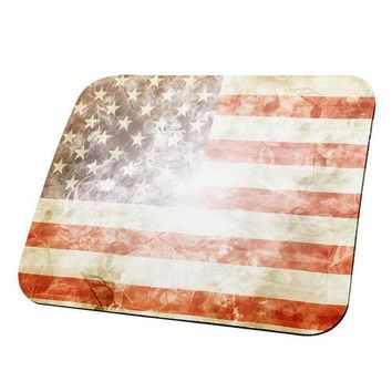 DCCKU3R 4th of July American Flag Star Spangled Banner All Over Mouse Pad