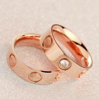 Cute couple rings women ring
