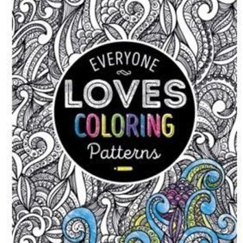 Everyone Loves Coloring Patterns Book