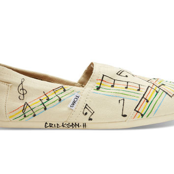 Haiti Music Notes Women's Classics