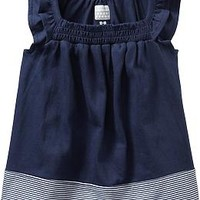 Ruffled Jersey Tops for Baby