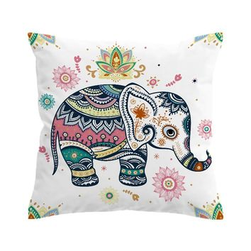 Baby Elephant Pillow Cover