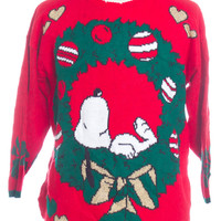 Red Ugly Christmas Pullover 30853 - The Sweater Store
