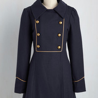 See the Sights Coat | Mod Retro Vintage Coats | ModCloth.com