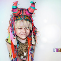 Little UTHA Shaman kid's headpiece