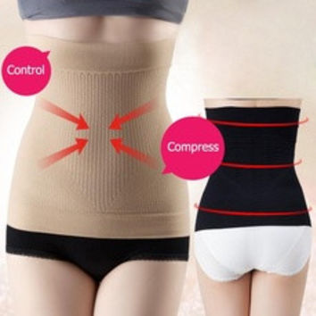 LOS F Profressional Hot Control Shapers Compression Waist Cincher Fat Burning Weight Loss Corsets Waist Trainer for Women NY056Y [7670827398]