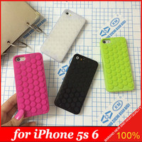 Free Shipping New Japan Bubble Decompression Puchi Puchi Bubble Wrap Funny  Case for iPhone 5S 6 4.7inch  with Retail Packing