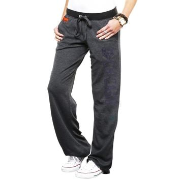 Victoria's Secret PINK Chicago Bears Ladies Boyfriend Pants - Charcoal
