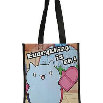 Licensed cool NEW Cartoon Hangover Catbug Everything is OK Reusable ECO Shopper Tote Gift Bag