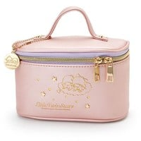 Little Twin Stars Vanity Pouch Pink Sanrio Japan Kiki Lala - VeryGoods.JP