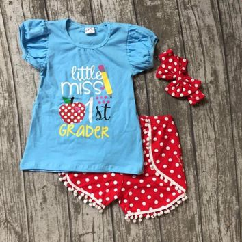 Back To School Little Miss First Grader Outfit