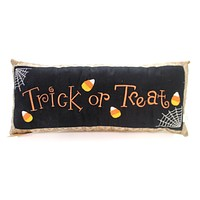 Halloween Trick Or Treat Pillow Halloween Accent Pillow
