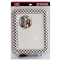 Locker Lounge Fashion Dry Erase Board 8 x 11 18 x 12 Assorted Colors by Office Depot