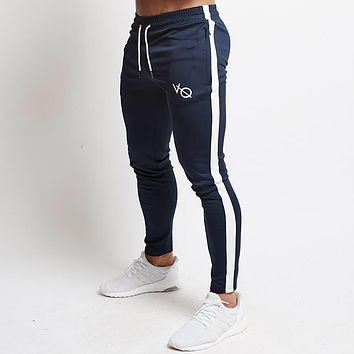 Autumn Casual plaid Sweatpants Solid Fashion high street Trousers Pants Men Joggers oversize brand high quality fitness pants