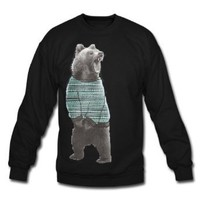 Amazon.com: Spreadshirt, sweaterbear, Men's Crewneck Sweatshirt: Clothing