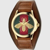 g-timeless medium watch with bee - Google Search
