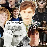 evan peters Art Print by CALM OCEANS™