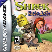 Shrek Hassle in the Castle - GameBoy Advance (Game Only)