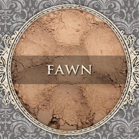 FAWN Matte Eyeshadow: Samples or Jars, Light Tan Brown, Loose Powder Eyeshadow, Cosmetic Pigment, VEGAN Makeup, Ships Out in 4-7 Days