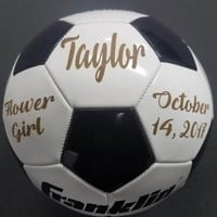 Flower Girl gift, Personalized Gift, Girl Soccer, Thank you gift, Wedding gift, Soccer Team, Team Gift, Flower Girl, Soccer Gift, Sports Gif